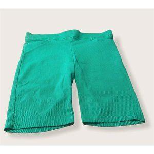 89th & Madison green polka dot shorts